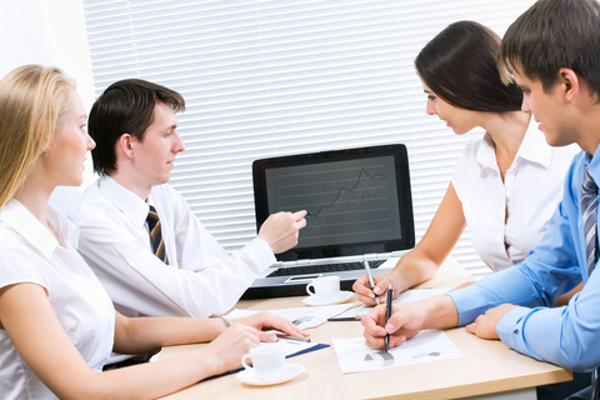 Advertising through business revenue