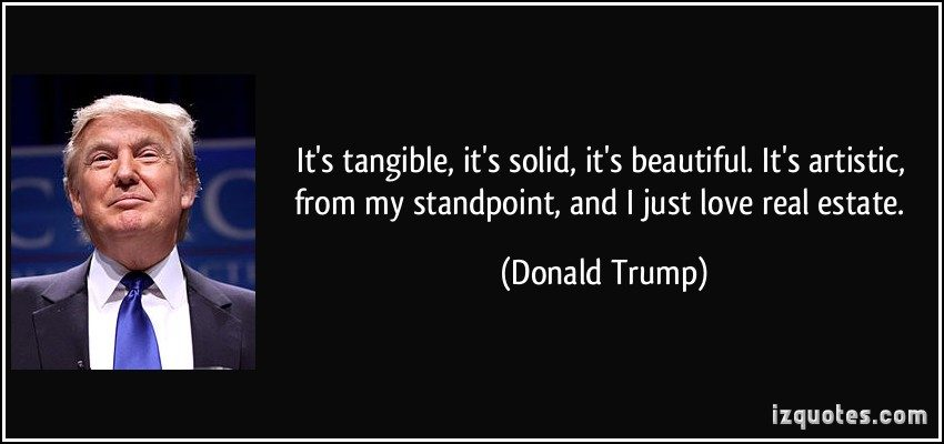 Donald Trump Real Estate Quotes