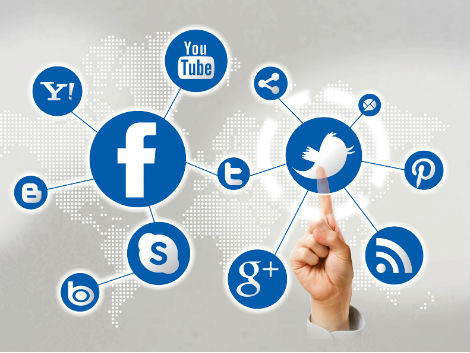 Advertising with the help of social media platforms like Facebook