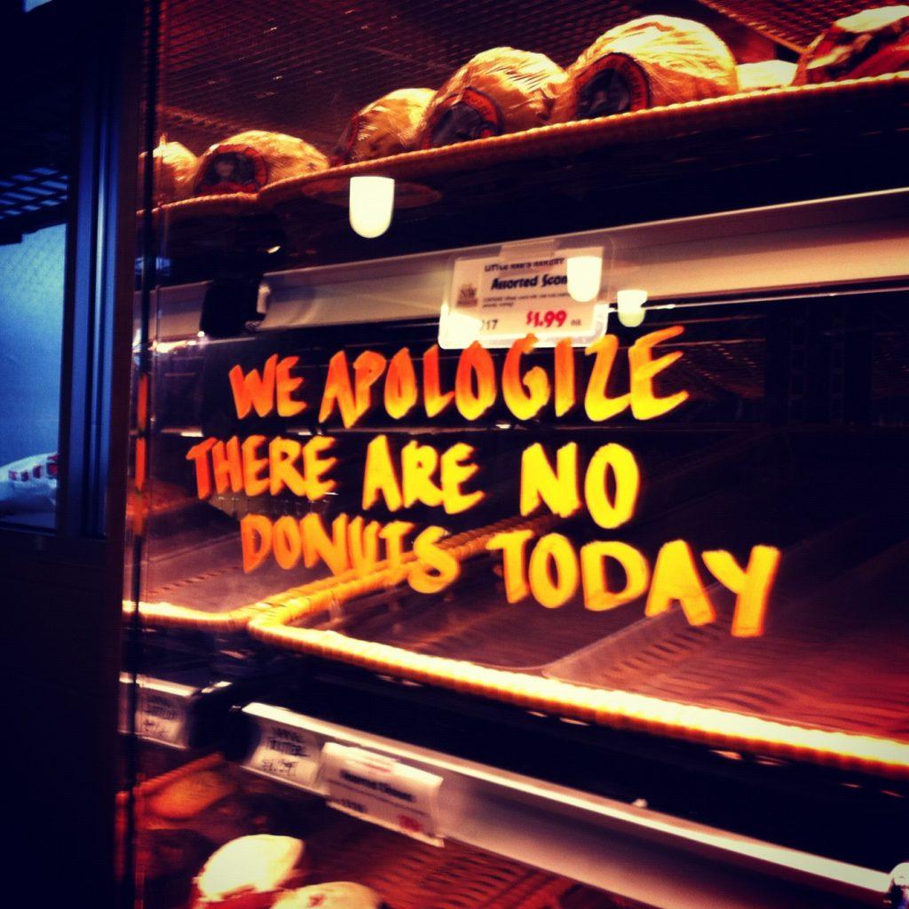 Weight loss No Doughnuts