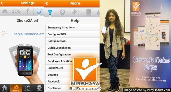 nirbhaya-be-fearless safety apps