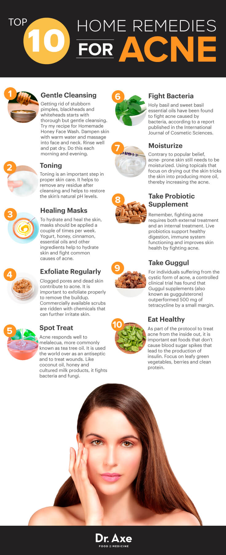 10 Healthy home remedies for acne