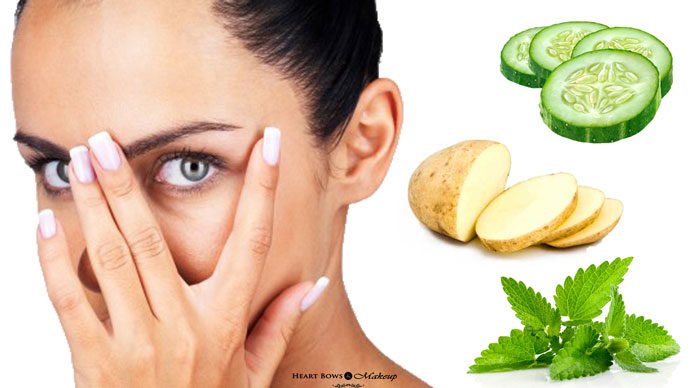 5 Home Remedies for Dark Circles