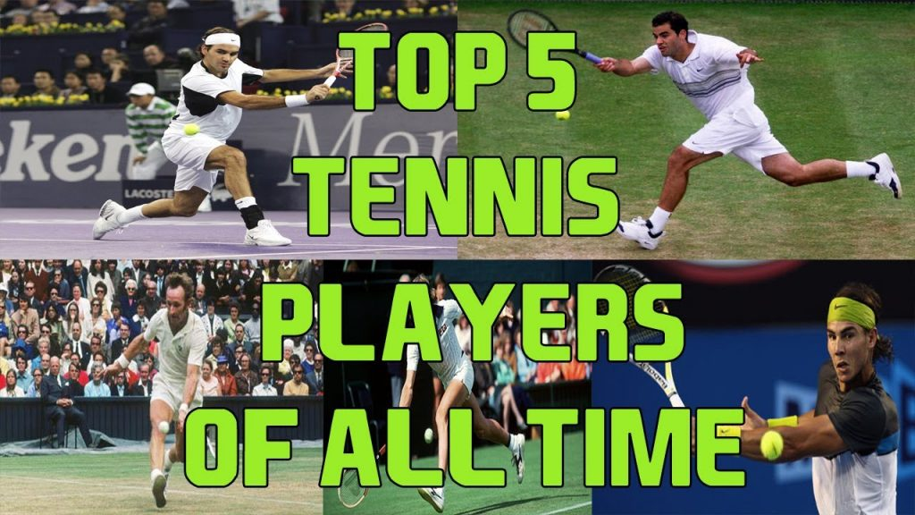 top 5 tennis players of all time